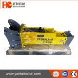 Martelo hidráulico da rocha da máquina escavadora do sistema de Soosan para a venda
