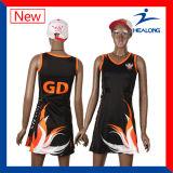 Healongの販売のための安い価格の衣類の昇華女性ネットボールの服