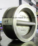 Valvola di ritenuta di duo dell'acciaio inossidabile (H77X-10/16)