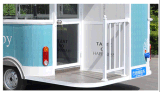 De mobiele Bestelwagen van het Voedsel van de Rol van de Vrachtwagen van het Voedsel van het Roomijs van de Vervaardiging Verkopende Kar Gebraden