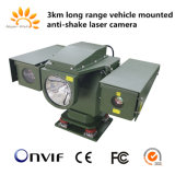 PTZ IPレーザーの赤外線カメラを反ぶつける手段の台紙の移動式監視