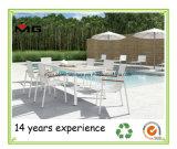 알루미늄 옥외 식사 가구 플라스틱 목제 정원 테이블