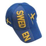 Baseballmütze-Hut der Mann-Frauen-Baumwolljustierbarer Stickerei-3D