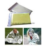 Cobertor Emergency da folha, cobertor do salvamento dos primeiros socorros