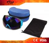 工場卸し売りHD 720p Anti-Fog反紫外線雪ガラスのスキーのゴーグル