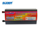 C.C. solar 12V del inversor de la energía solar del inversor 1300W de Suoer a la CA 220V (MDA-1300B)