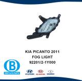 KIA Picanto 2011 do lado de nevoeiro da retaguarda