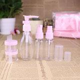 De plastic Reeks van de Reis, de Fles van de Spuitbus van de Pomp, Kosmetische Kruik (PT10)