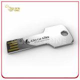 Sleutel de van uitstekende kwaliteit van het Metaal USB van de Gift van de Bevordering van de Serigrafie