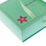 Casella di carta del cassetto su ordinazione di marchio con la maniglia del nastro
