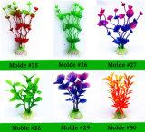 De plastic Kunstmatige Aquatische Toebehoren van het Aquarium van de Waterplant