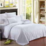 100% coton White Hotel Bedding Sets