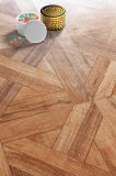 revestimento laminado madeira do vinil do Teak do carvalho do bordo de 8.3mm E1 AC3 HDF