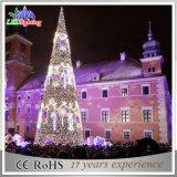 مركز تجاريّ زخرفة خارجيّة معدنة عملاقة [لد] عيد ميلاد المسيح حمراء شجرة أضواء