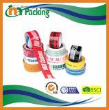 BOPPはカスタマイズされたロゴの付着力のパッキングテープを印刷した