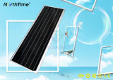80W熱い販売の情報処理機能をもった太陽センサーLEDの街灯