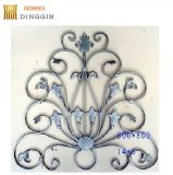 Pasamanos de escaleras decoración con material de acero cuadrado de 12