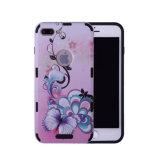 Modèle d'impression antidérapant anti-rayures ultra mince téléphone cellulaire pour l'iPhone8 plus de cas