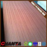 家具によって使用されるキャブレターまたはFsc BB/CCの等級のための自然なSapeleのベニヤの空想の合板18mm