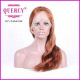 Parrucca naturale del merletto della parte anteriore dei capelli del Virgin dell'essere umano dell'onda 100% di colore di modo