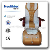 Золотистый стул Pedicure кожи размера ферзя (A303-33)