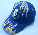 網のアップリケ- 1052年の野球帽