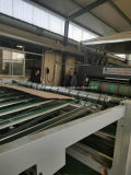 China Venta caliente 3 Colores Imprenta Máquina de troquelado de cartón corrugado usado para