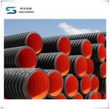 高品質の低価格のHDPEのDouble-Wallふいごの排水の管