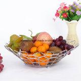 주문 도매 금속 와이어 과일 음식 바구니