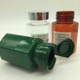 Frasco do empacotamento plástico do produto dos cuidados médicos do animal de estimação 120cc do produto comestível com ISO/SGS