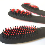 2016 Mais recente PTC Aquecimento Ionic Brush Hair Straightener Nasv Beauty Star Comb Irons com LCD Display Electric Hair Straight Brush