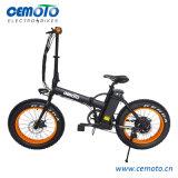 바닷가 함 전기 자전거를 접히는 En15194 20*4.0 뚱뚱한 타이어
