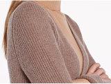 Kaschmir-Mantel-lange Art-Form-heißer Verkaufs-Großverkauf der Frauen