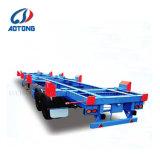 Le skeleton châssis porte-conteneurs de fret semi-remorque de camion