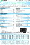 Bateria AGM de pequeno tamanho 6V12ah (3-FM-12) com CE RoHS UL