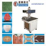 Máquina de la marca del laser para las piezas plásticas de los tubos