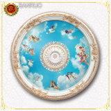 Усиленная стеклянным волокном декоративная художническая панель потолка для крытого украшения (BRRD85-S-089)