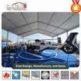 Алюминий военных самолетов палатки палатка ангара с ПВХ ткани крыши