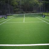 15мм Высота 75600 плотность спорта теннис области искусственных травяных Syntheticturf