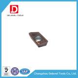 Nueva pieza inserta del carburo de tungsteno de la alta precisión para procesar el acero inoxidable