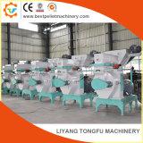 El suministro de la fábrica de pellets biomasa caseros de la máquina de prensa