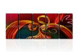 Pintura de alumínio artesanal de design novo com efeito 3D (CHB6015026)