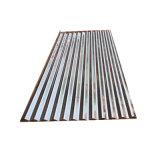 Dx51d chapas nervuradas galvanizado a folha de telhado de zinco