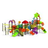 Parque Infantil exterior de plástico para crianças e crianças (JYG-15021)