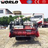 米およびムギのための農業のクローラータイプコンバイン収穫機