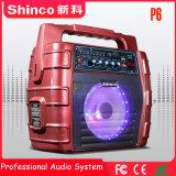 Shinco 6.5 Zoll anrechenbarer Bluetooth beweglicher Berufskaraoke-Lautsprecher