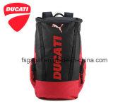 Ducati Motorcyle impermeável que dá um ciclo competindo a trouxa do saco do curso dos esportes