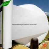 白い農業のベールサイレージの覆いのフィルム