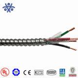 Câble UL 1569 Mc 600V Les conducteurs en cuivre Thhn/Thwn-2 comme gaine en PVC pneus intérieurs Aia l'enterrement direct Câble à revêtement métallique