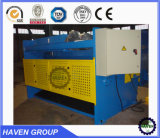 Machine hydraulique QC12K-20X4000 de tonte et de découpage de faisceau d'oscillation de commande numérique par ordinateur
